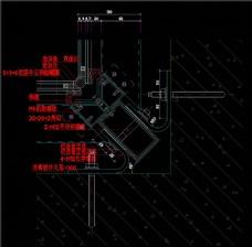 玻璃幕墙设计素材CAD图纸