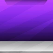 紫色几何体淘宝主图