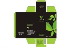 化装品包装盒图片