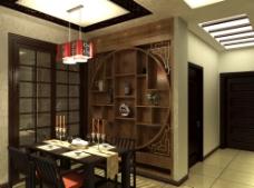 木制餐厅图片