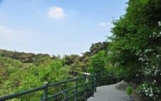 旅游区 蓝天白云图片