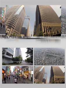 日本东京生活环境旅游景点实景实拍