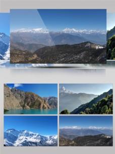 尼泊尔自然风光展示摄影宣传片