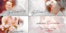 唯美浪漫婚礼模板