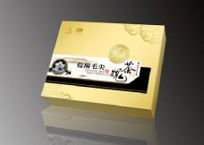 茶叶包装盒模板