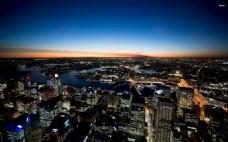夜色城市商用背景