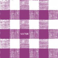 布纹紫色与白色格子背景矢量素材