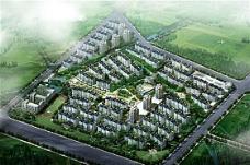 大型住宅区 商品楼 鸟瞰图 效果图 分层 psd源文件_0067
