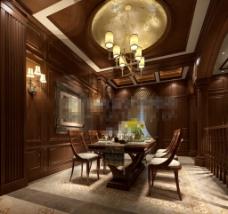 厨房餐厅环境效果设计素材