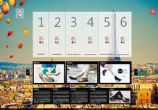 鞋业网站首页引导图片