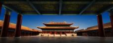 中式建筑 大雄宝殿图片