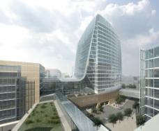 商业大楼建筑景观