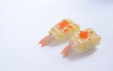 玻璃虾寿司图片