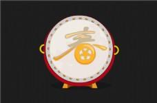 中国新年擂鼓flash动画