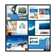 企业宣传画册模板设计