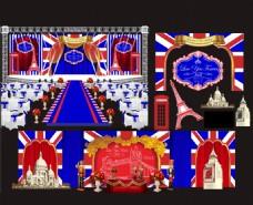 英伦风婚礼模板