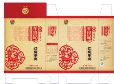 肉制品包装盒设计素材
