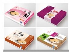 馅饼包装盒设计PSD