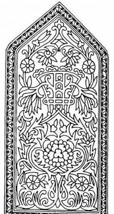 团花纹样 传统图案_0121
