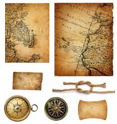 复古怀旧航海背景