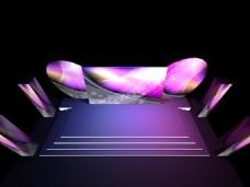 新品发布会3D舞美效果图