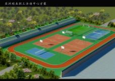 运动场平面布置图图片