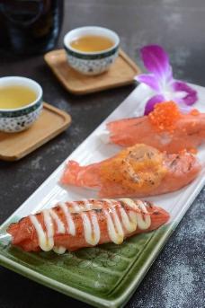 蟹柳三食图片