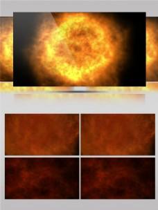金色太阳能量视频素材