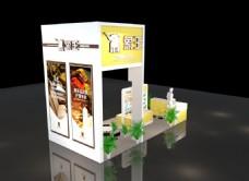 3D效果 门店海报图 门店