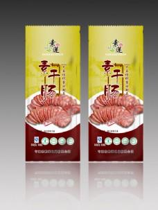 素干肠包装设计PSD,素干肠,包装