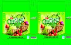 有机蔬菜包装设计图片