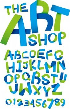 英文字母矢量素材