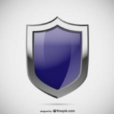 蓝色安全标志