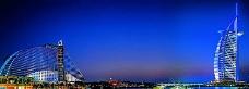 迪拜建筑banner创意设计