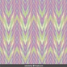 在柔和的色彩抽象曲折的背景