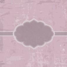 蹩脚的粉红色背景徽章