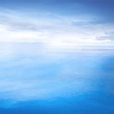 蓝色梦幻海洋背景