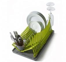 厨房收纳创意碗碟架设计