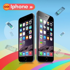 苹果手机淘宝海报