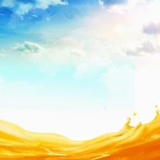 天空促销主图背景图