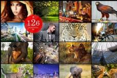 126款专业的照片艺术效果调色动作