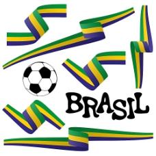 巴西世界杯主题元素