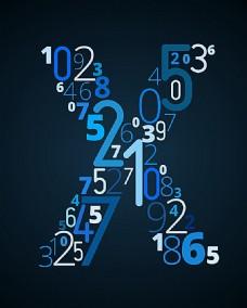 创意字母数字