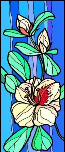 花朵 花草 鲜花 矢量 EPS格式_0020
