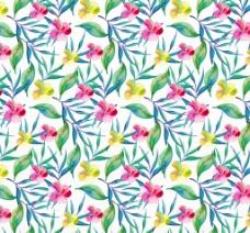 花朵植物背景图案素材