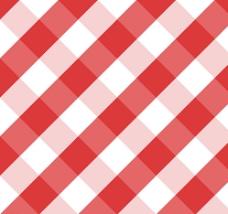 红色系菱形格背景矢量素材图片