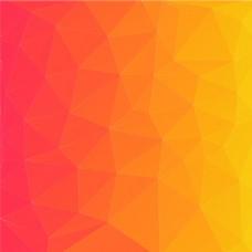 橘黄色渐变背景图矢量素材