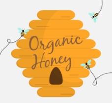 蜂巢背景素材