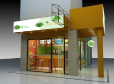 奶茶店 专卖店 店铺设计 橱窗图片