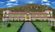 柳河山庄酒窖办公楼图片